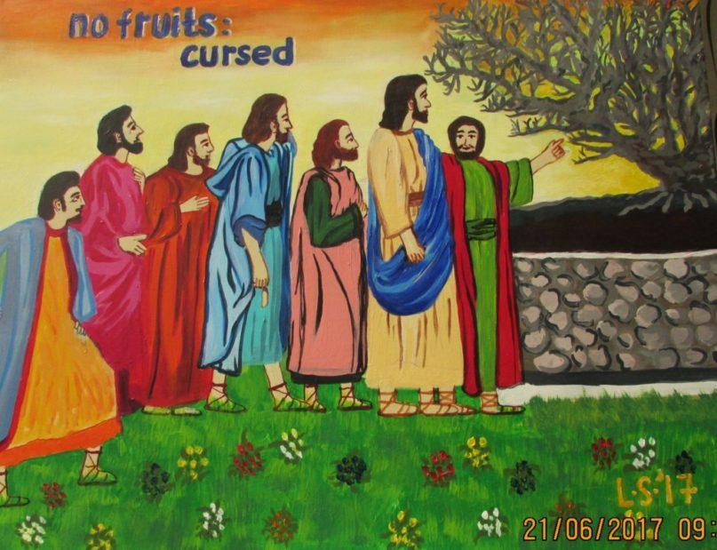 Lukisan CXXVII – No Fruits : Cursed