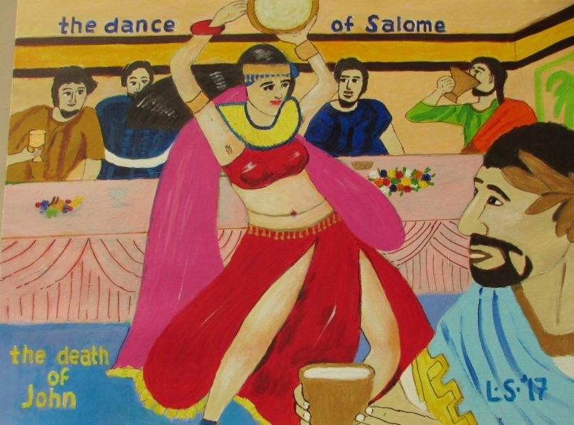 Lukisan CXXVIII – The Dance of Salome; The Death of John