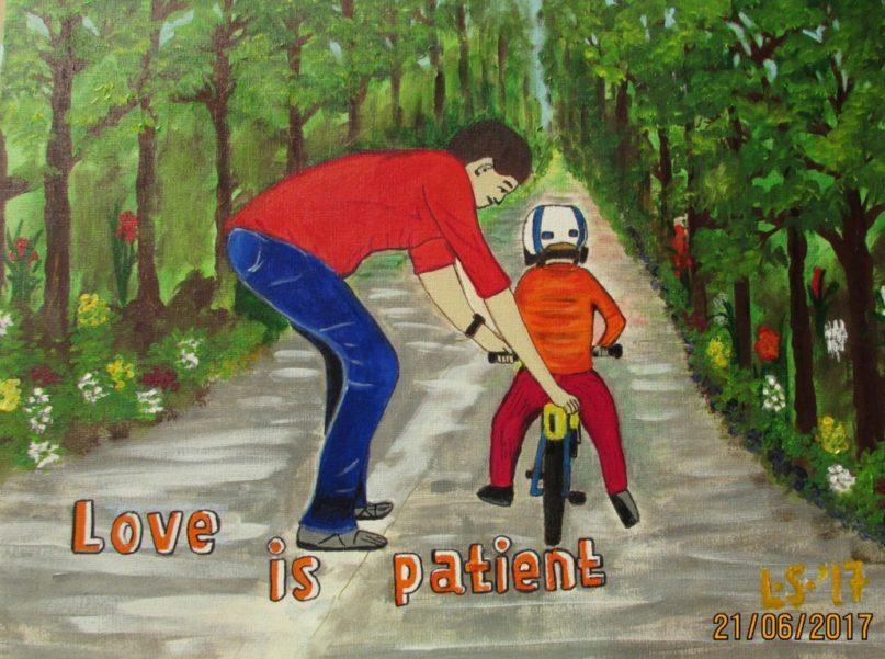Lukisan CXXXI – Love is Patient