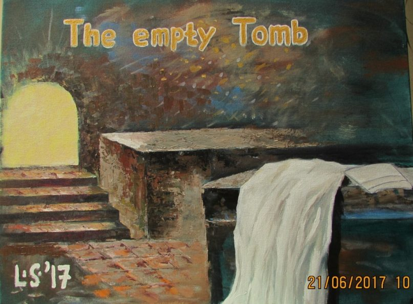 Lukisan CXXXII – The Empty Tomb