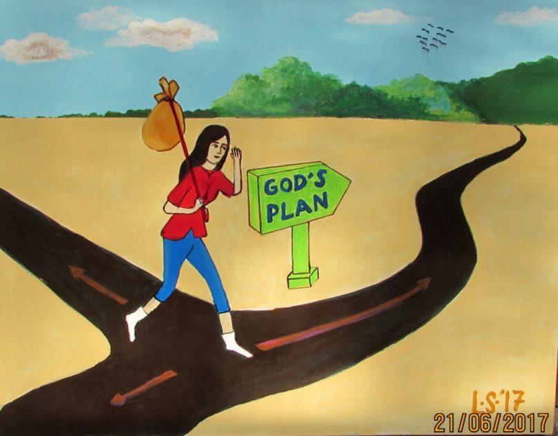Lukisan CXXXIV – God's Plan