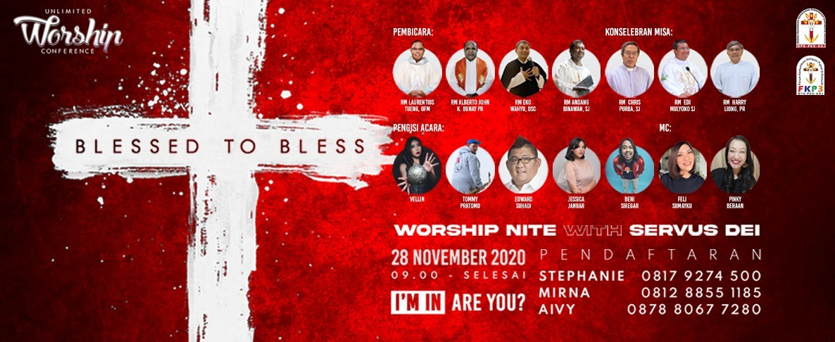 UNLIMITED WORSHIP CONFERENCE, 28 NOVEMBER 2020