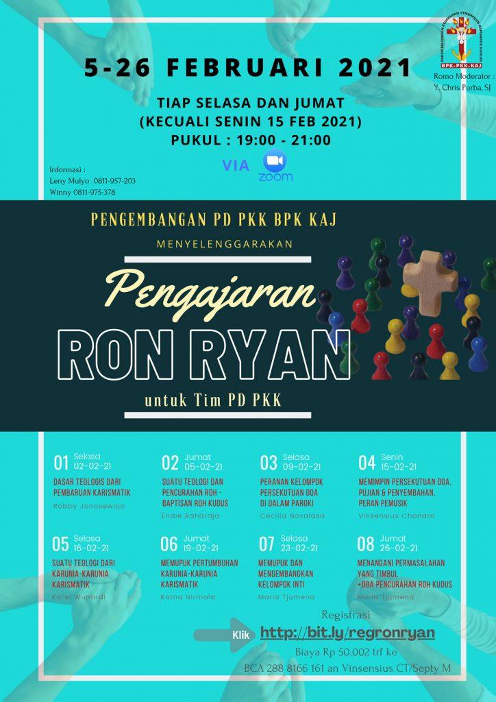 Pengajaran Ron Ryan Untuk Tim PD PKK