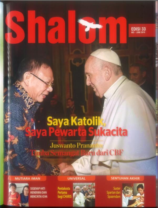 Majalah Shalom Edisi 33