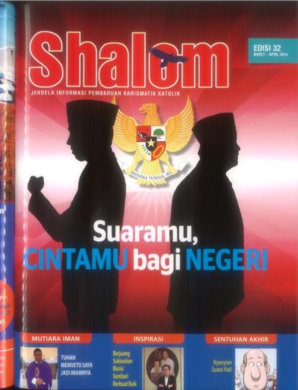 Majalah Shalom Edisi 32