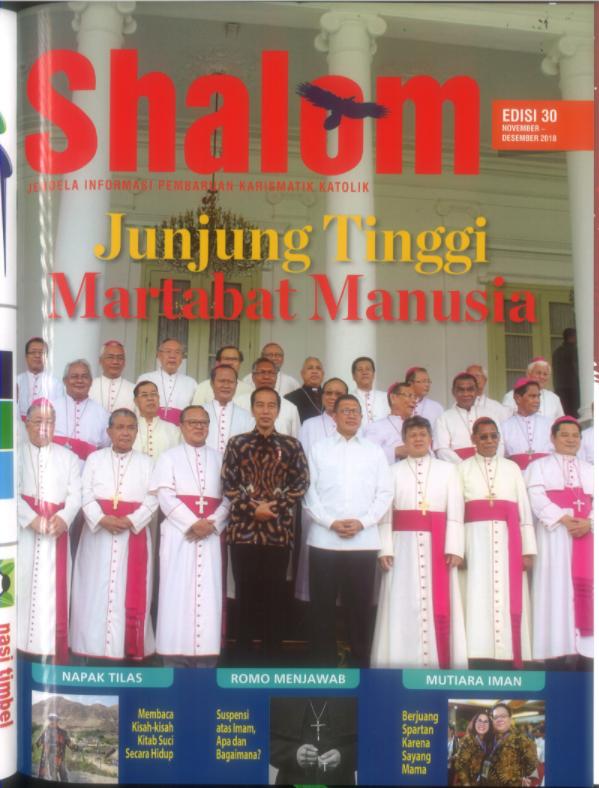Majalah Shalom Edisi 30