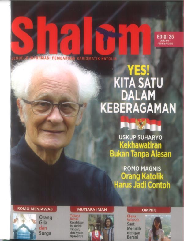 Majalah Shalom Edisi 25