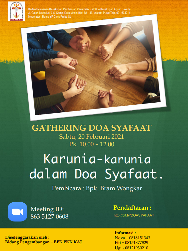 Gathering Doa Syafaat