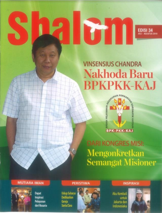 Majalah Shalom Edisi 34