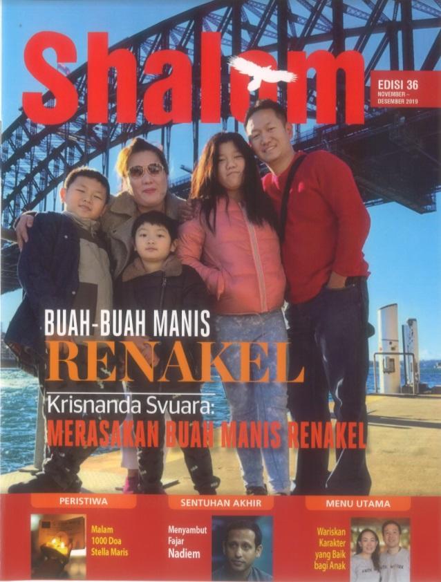Majalah Shalom Edisi 36