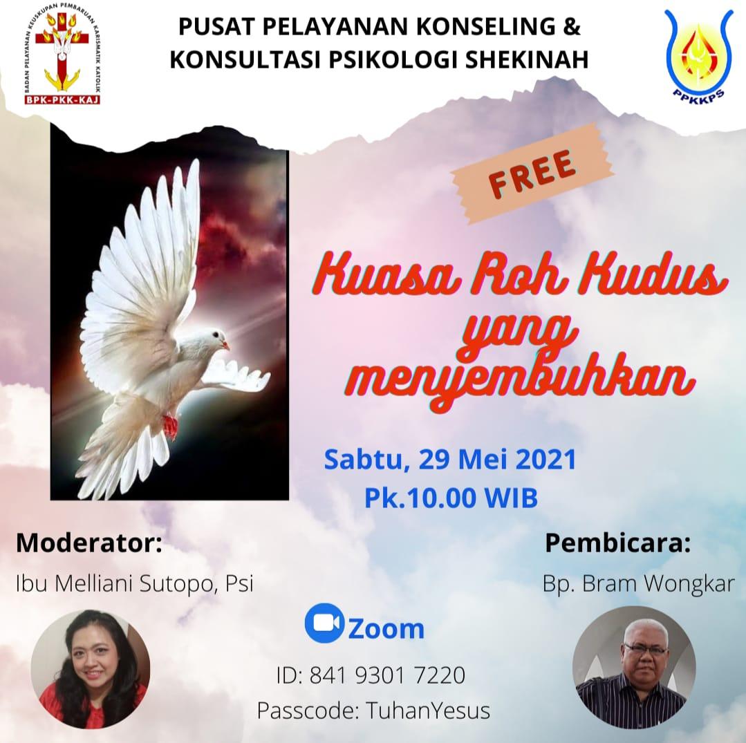 Kuasa Roh Kudus yang Menyembuhkan