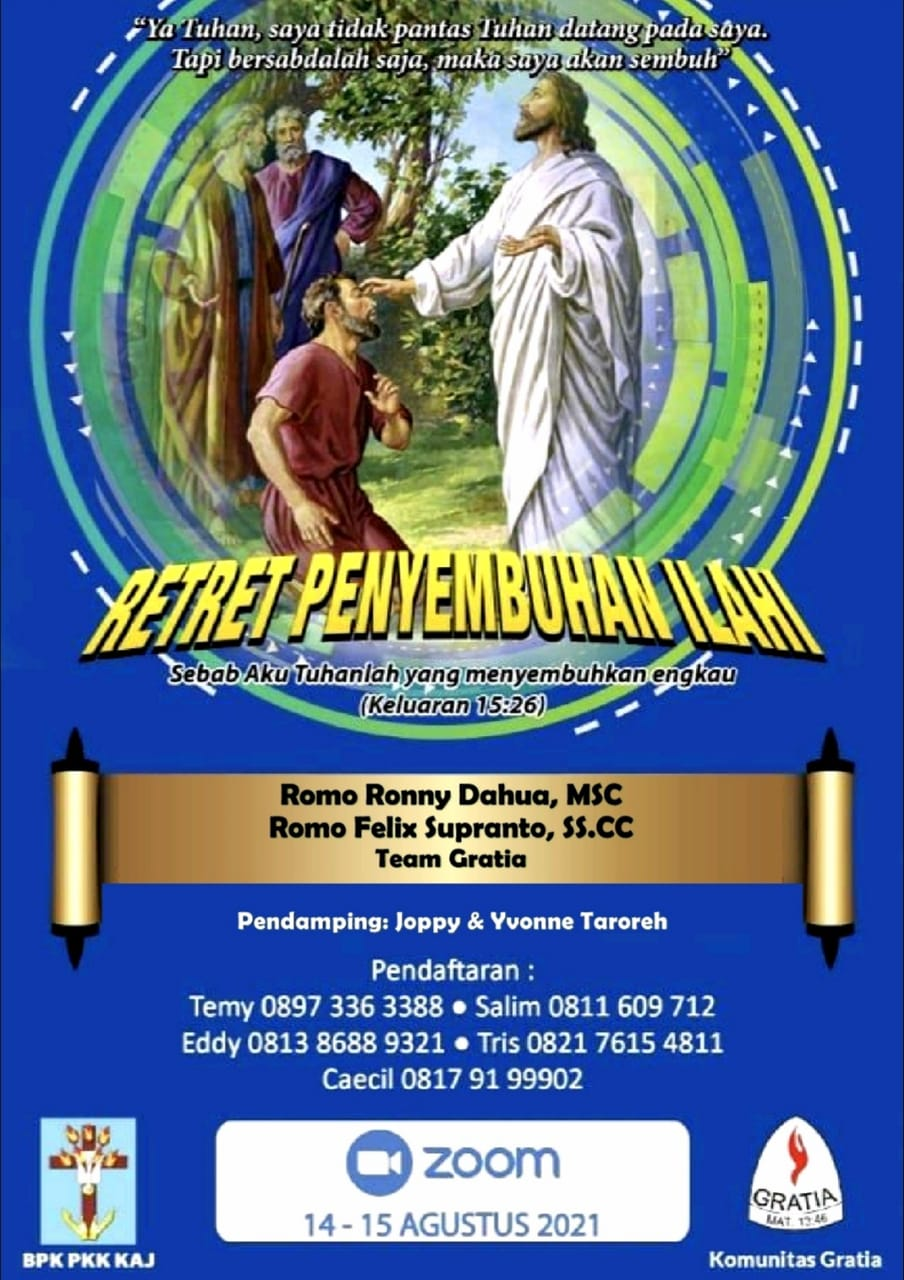 RETRET PENYEMBUHAN ILAHI